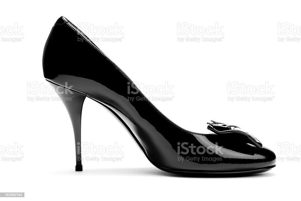 Black high heel royalty-free stock photo