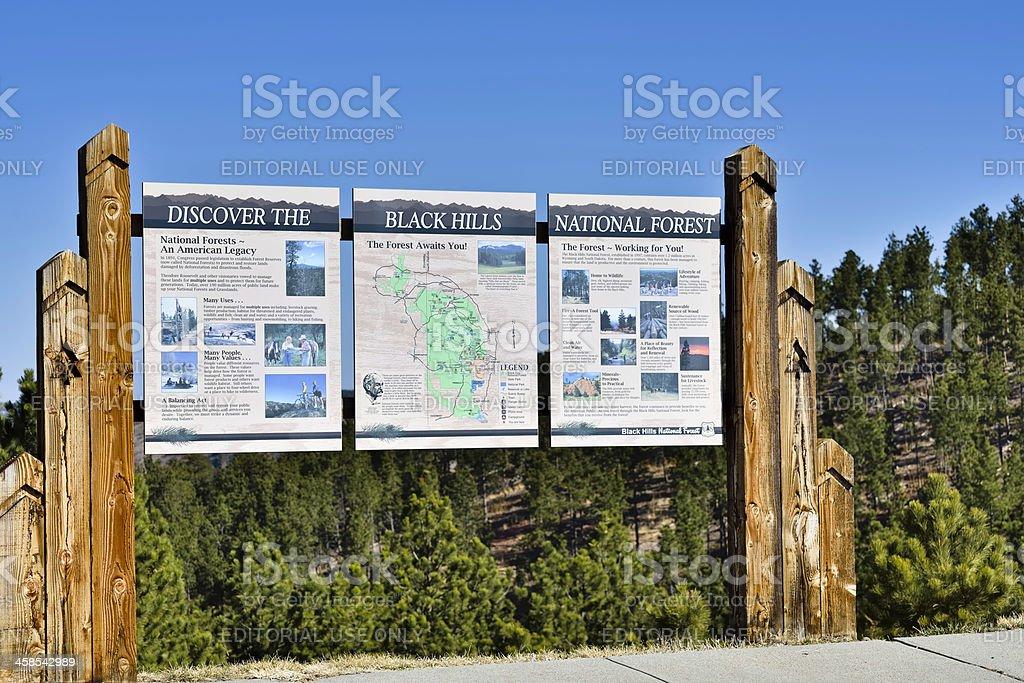 Black Hills, South Dakota royalty-free stock photo