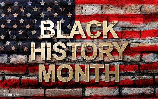 istock Black History Month (African-American History Month ) background design for celebration and recognition in the month of February. 922351736
