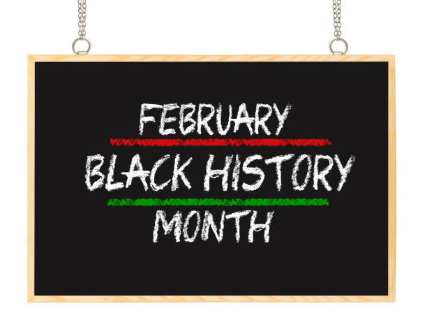 Black History Month stock photo