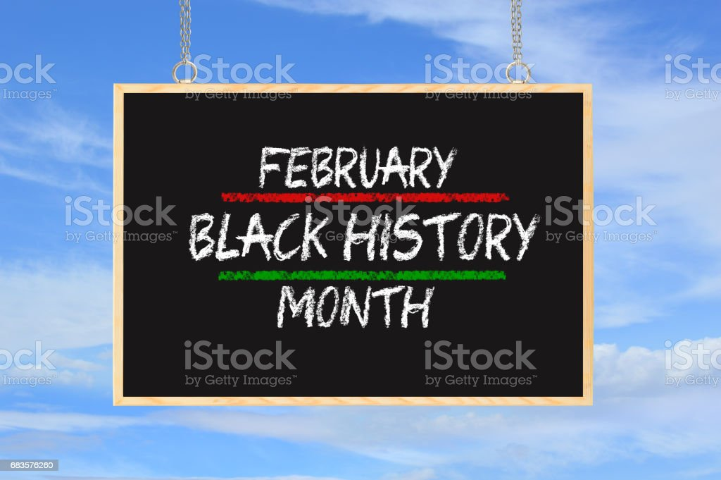 Black History Month stock photo