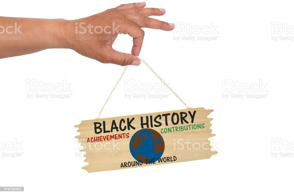 Black History stock photo
