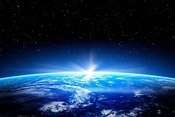 ブラックホールのコンセプト。 - 地球 ストックフォトと画像