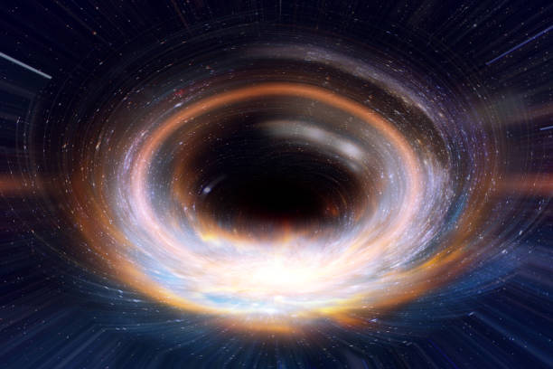 black hole or wormhole in galaxy space and times across in the universe concept art. Elements of this image furnished by NASA. black hole or wormhole in galaxy space and times across in the universe concept art. Elements of this image furnished by NASA. black hole stock pictures, royalty-free photos & images