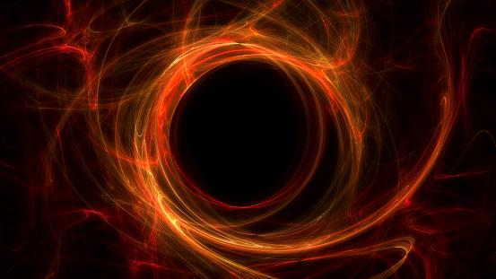 Schwarzes Loch Stockfoto und mehr Bilder von Abstrakt