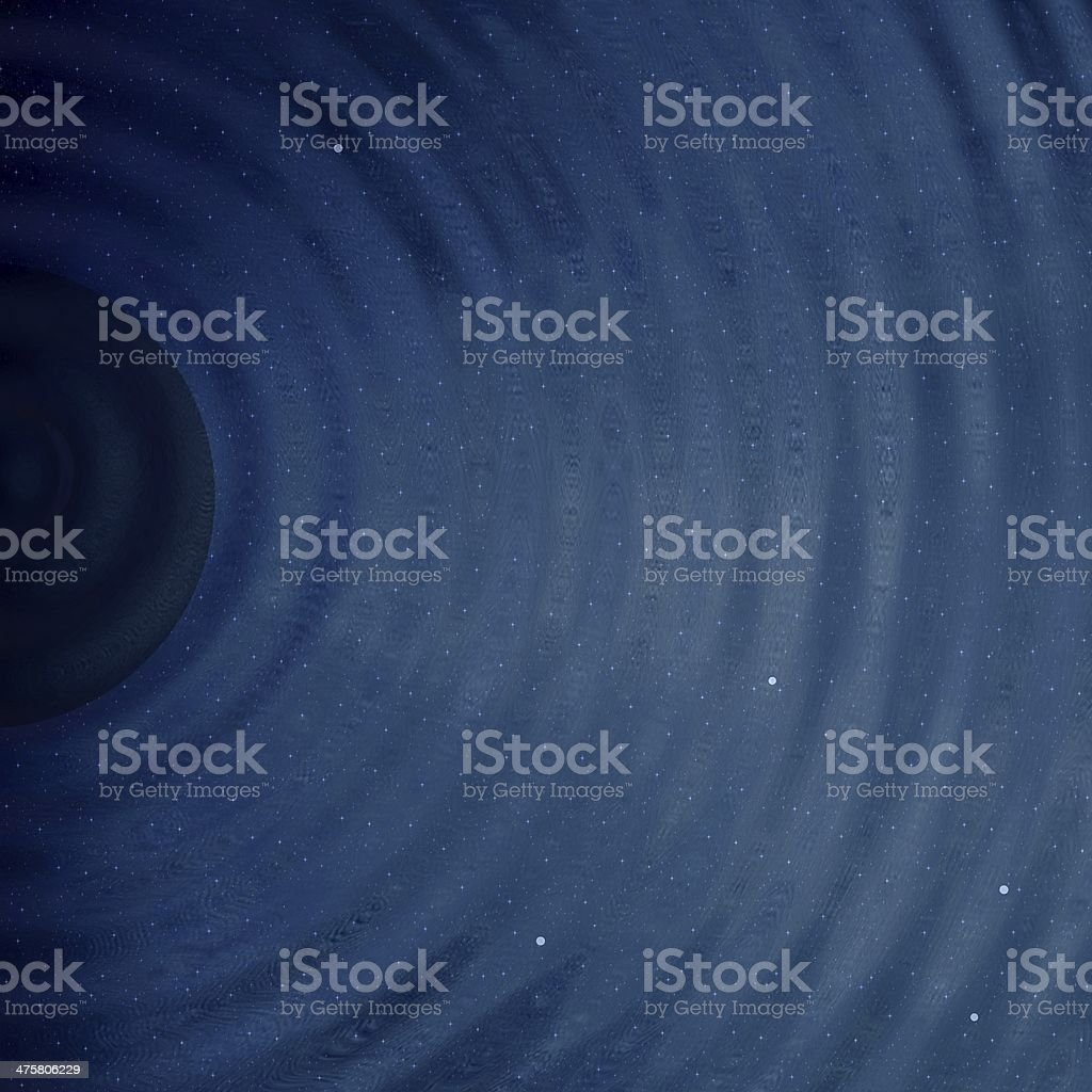 Black hole royalty-free stock photo