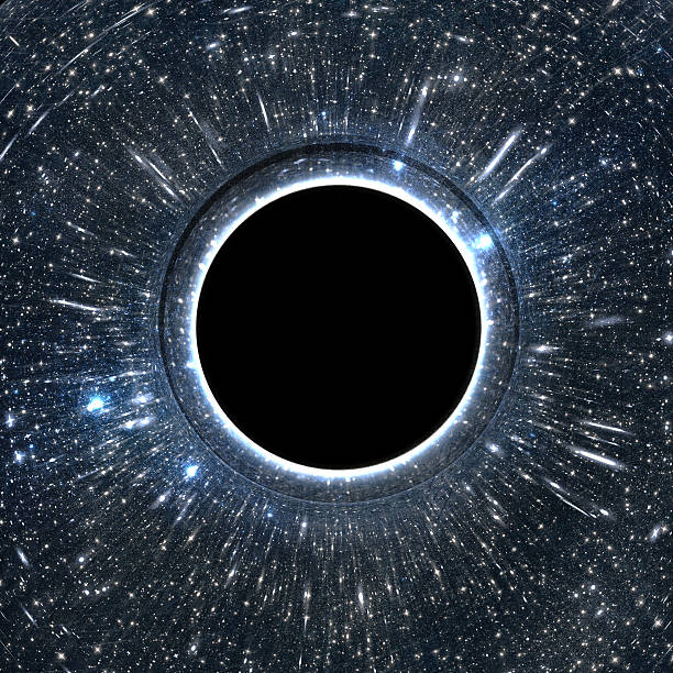 Black hole 3D render of a black hole black hole stock pictures, royalty-free photos & images
