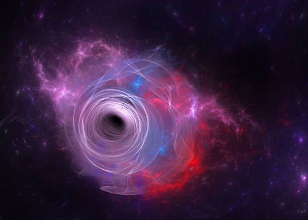 black hole blue abstract modern background black hole stock pictures, royalty-free photos & images