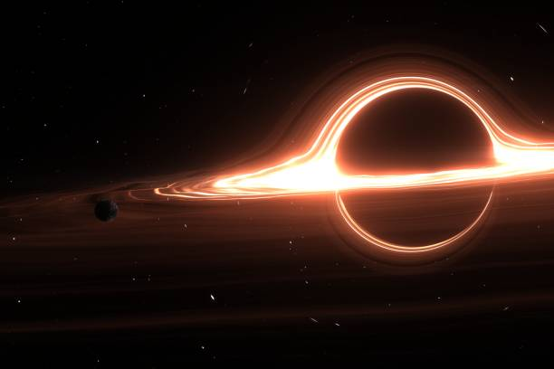 Black hole system. Elements of this image furnished by NASA Black hole in the universe 3D image black hole stock pictures, royalty-free photos & images