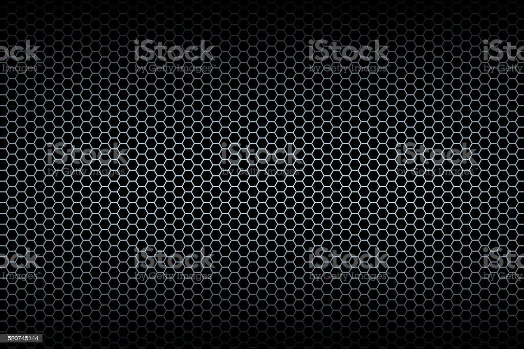 Black honeycomb background stock photo