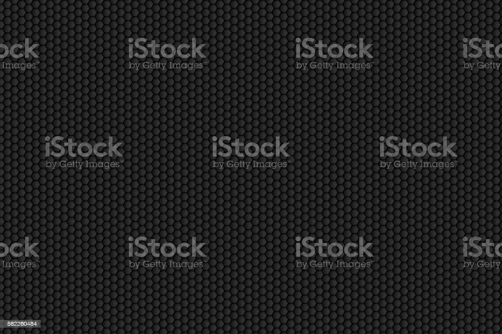 black honeycomb pattern for background texture - Photo