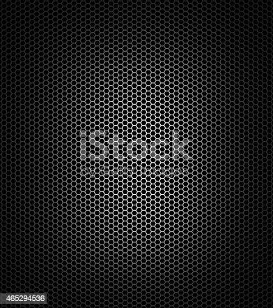 istock Black honeycomb 465294536