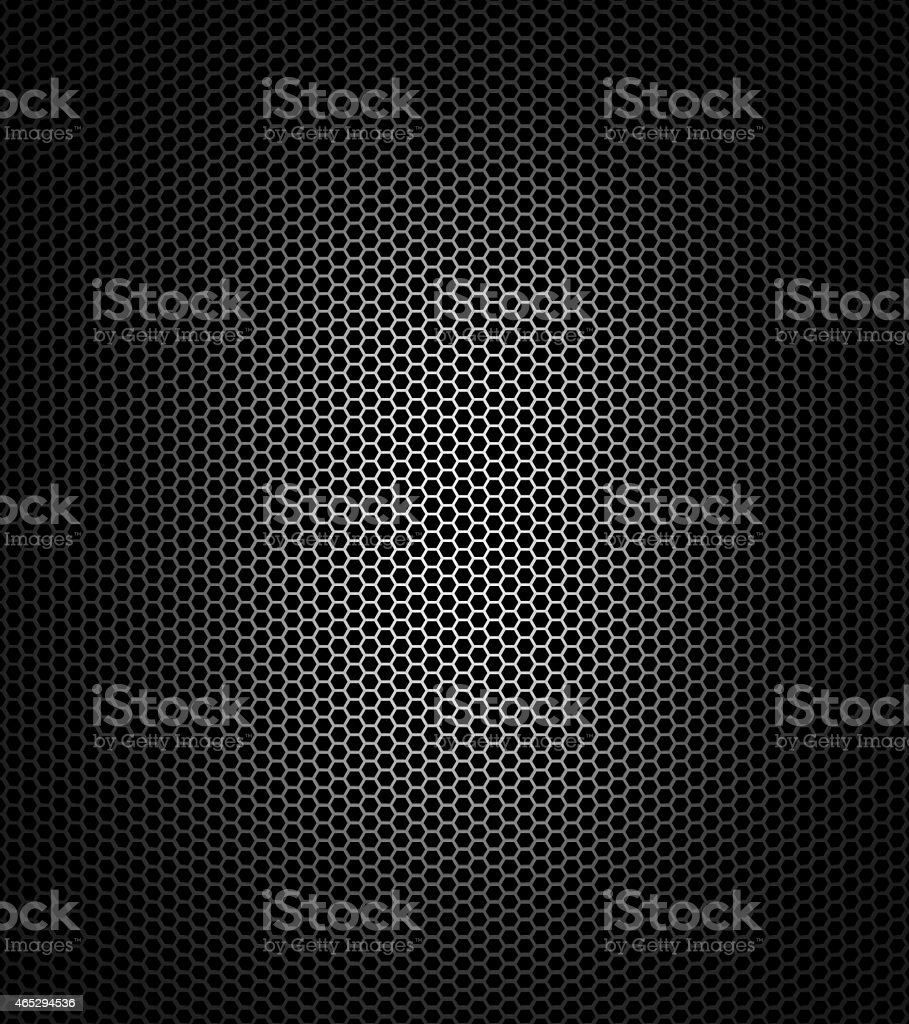 Black honeycomb stock photo