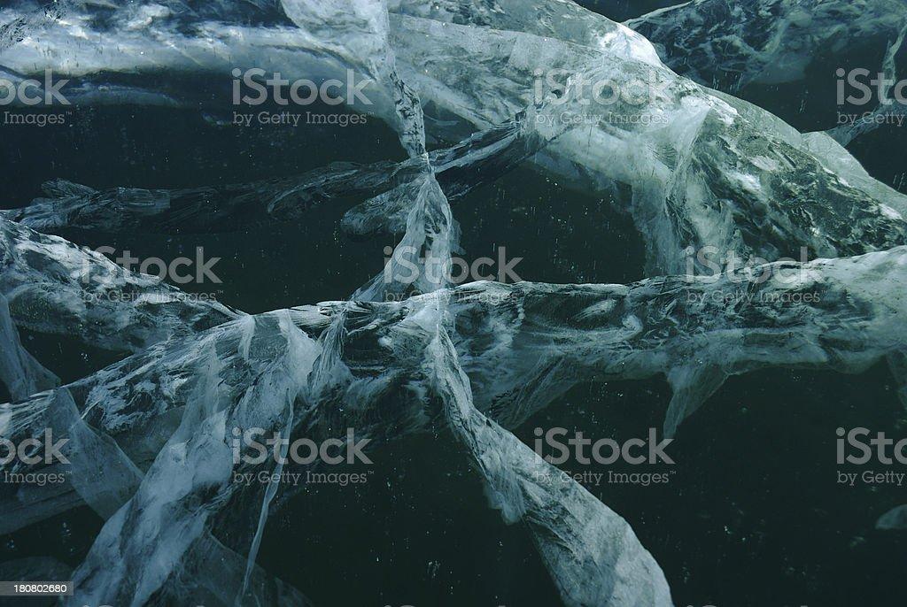 Black ice background royalty-free stock photo