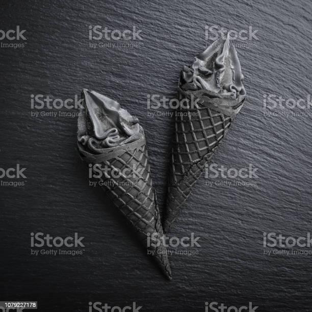 Black ice cream in cone picture id1079227178?b=1&k=6&m=1079227178&s=612x612&h=gq6t cxenlota8vqa1ulohohvzh tmeim yrnggdv4w=