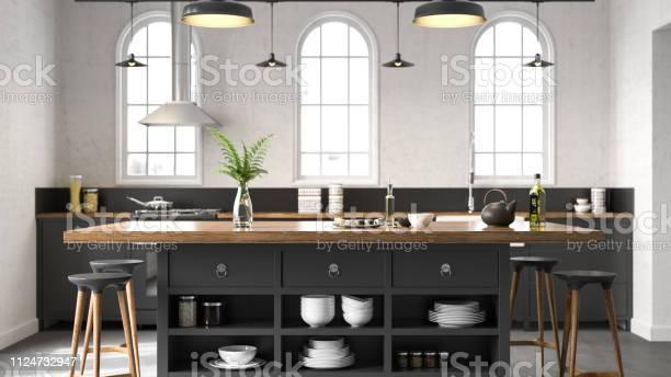 Black industrial kitchen picture id1124732947?b=1&k=6&m=1124732947&s=612x612&h=yobrrf8sndp msgc joxgasqceu6tqjjukx2vmmdxao=