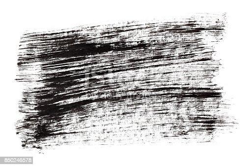 istock Black ink hatched texture 850246578