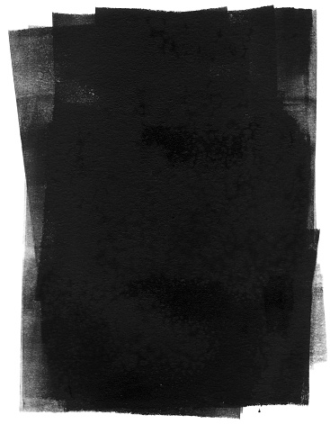 Black printing ink, rolled out for your background pleasures.