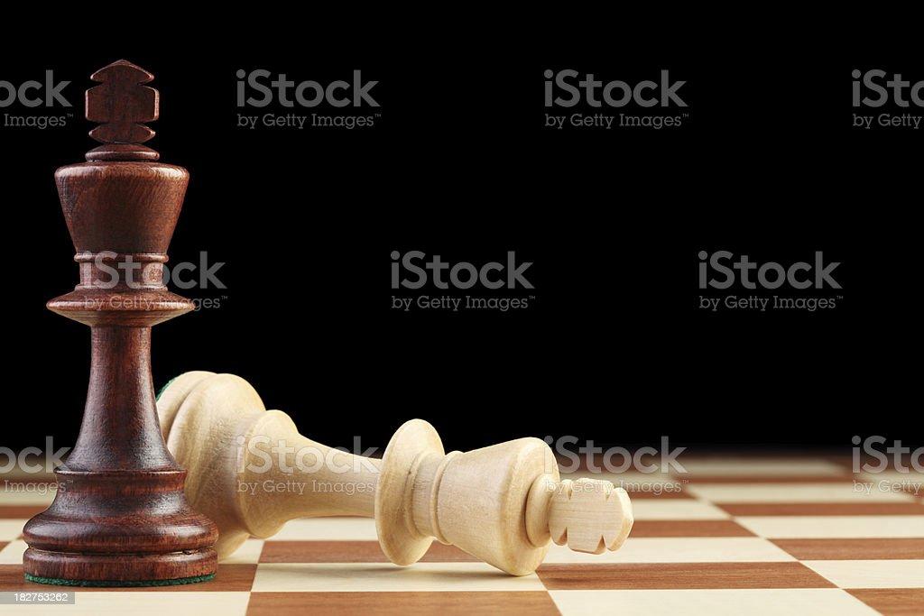 Black is Winning royalty-free stock photo