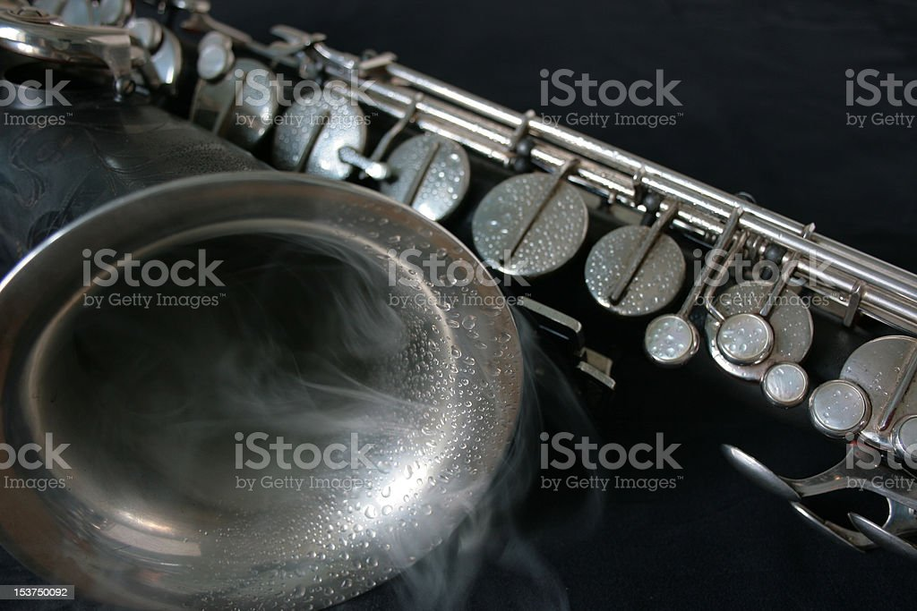 Black Jazz stock photo