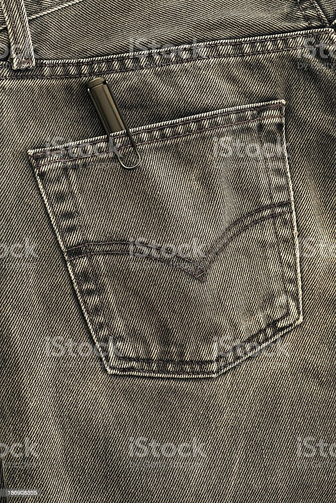 Black Jeans royalty-free stock photo