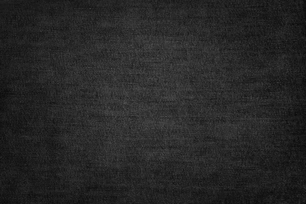 zwarte jeans textuur - zwarte spijkerbroek stockfoto's en -beelden