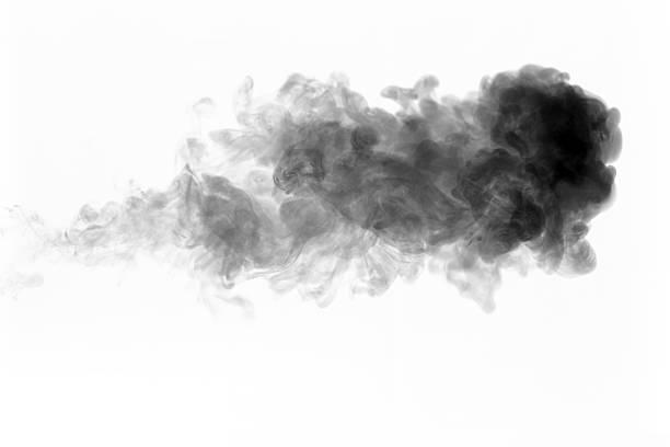 Schwarzen Rauch aufgehen – Foto