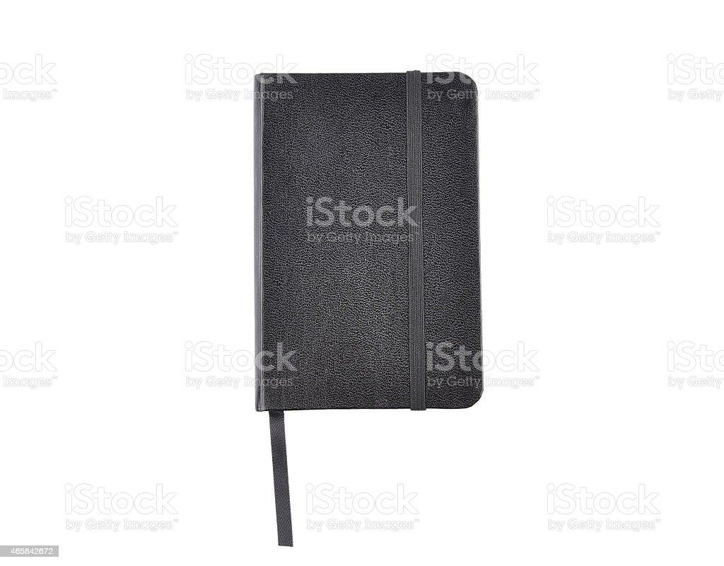 Black jotter stock photo