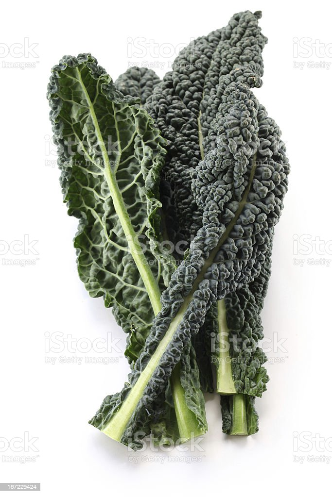 black kale stock photo