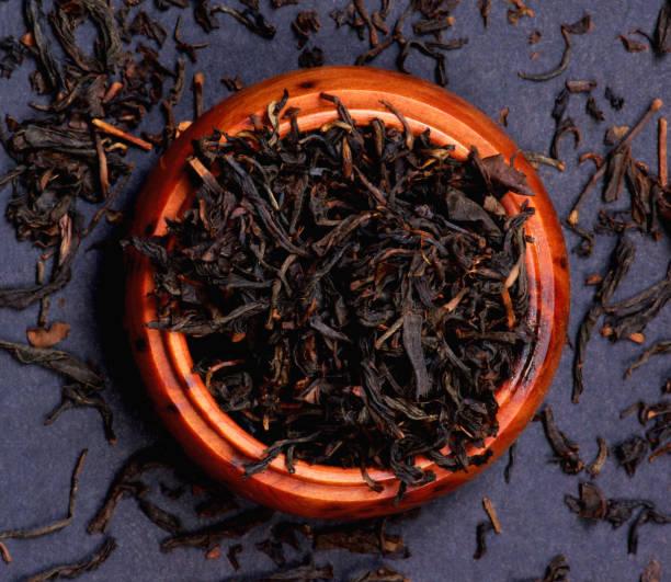 Black Kenya Tea Milima stock photo
