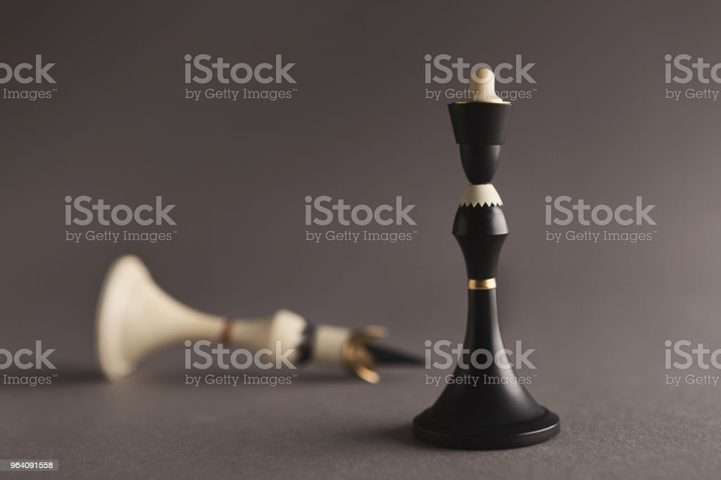 Black King wins - Royalty-free Backgrounds Stock Photo