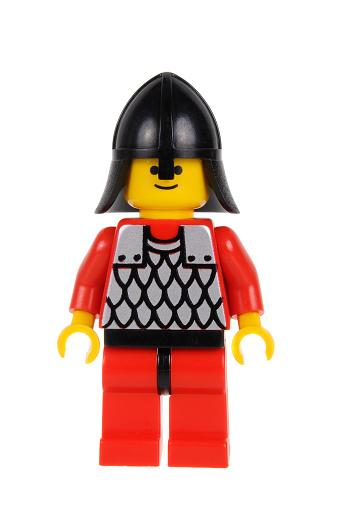 Lego Minifigures Black Knight Helmet