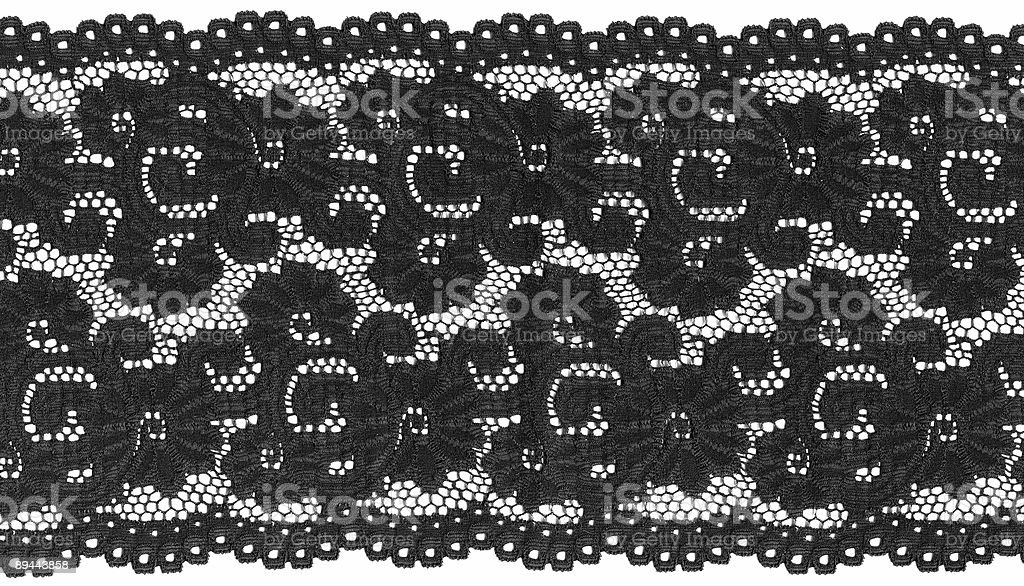 black lace royalty-free stock photo