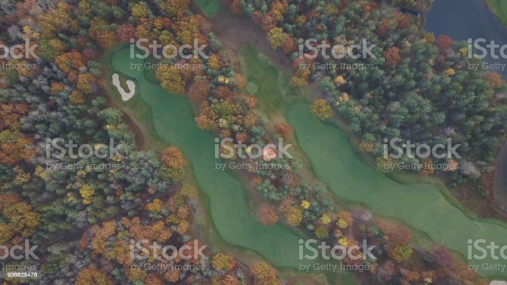 Black Lake Golf Course stock photo