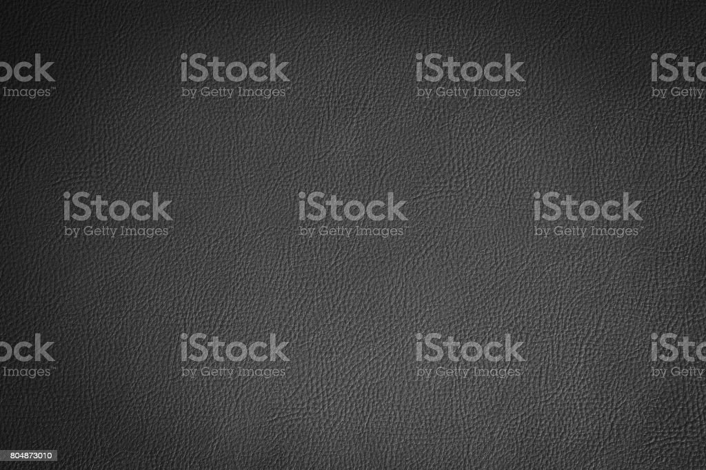 Black leather and texture background. stock photo