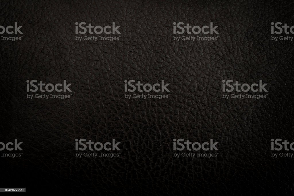 Fundo de textura de couro preto ou - foto de acervo