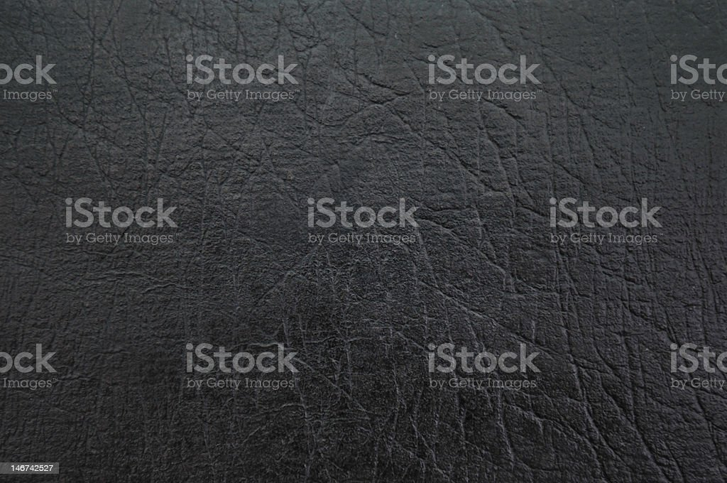 Black Leather royalty-free stock photo