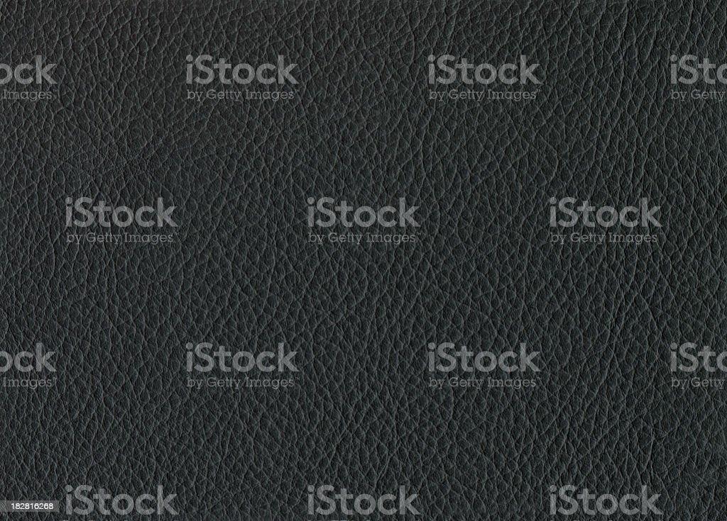 Black leather. royalty-free stock photo