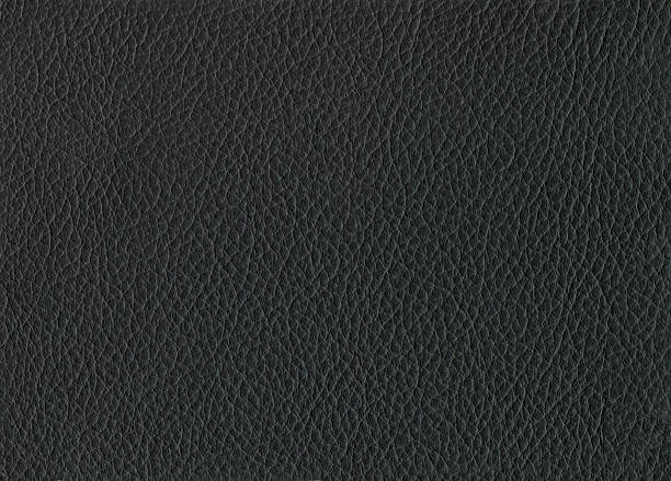 Cuero negro. - foto de stock