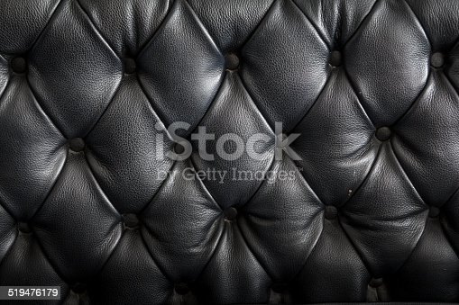 istock Black Leather 519476179