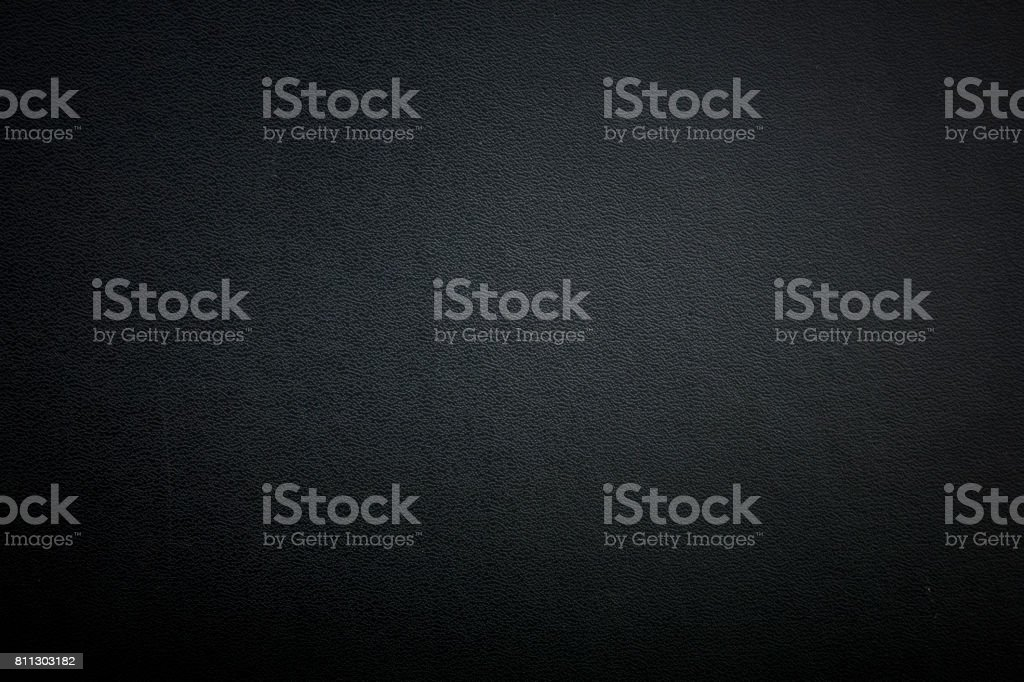 Black leather - foto stock