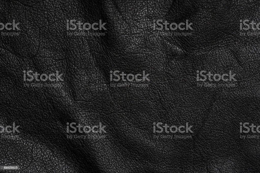 Cuir noir photo libre de droits