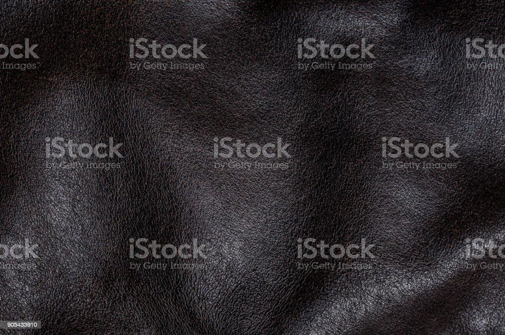 Cuero negro - foto de stock