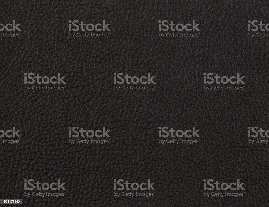 Muestra de cuero negro - foto de stock