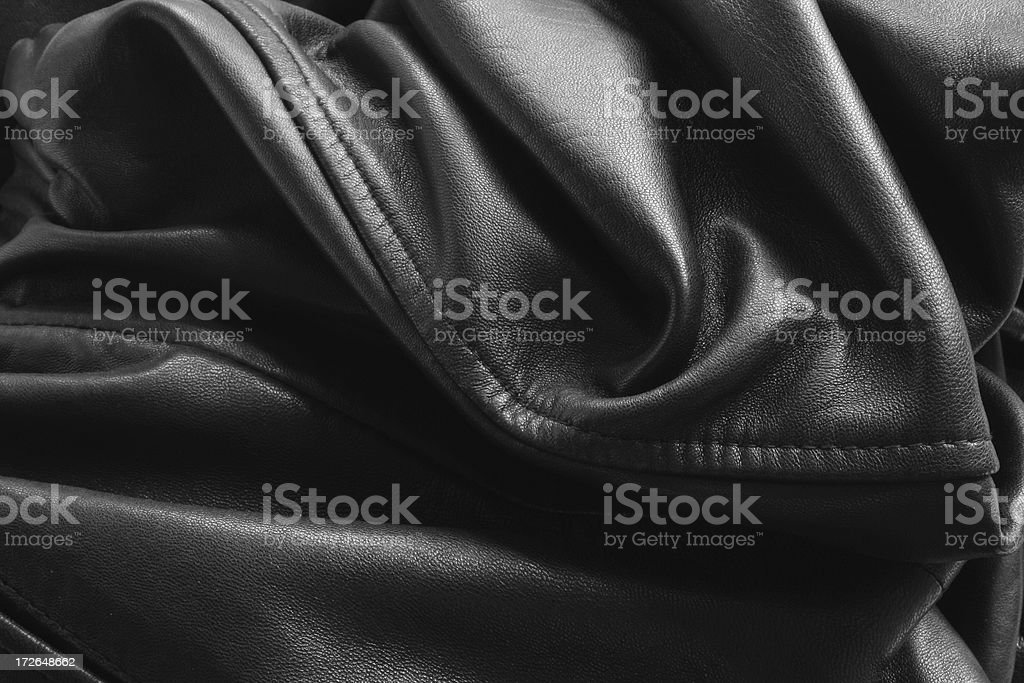 Black Leather Texture 02 royalty-free stock photo