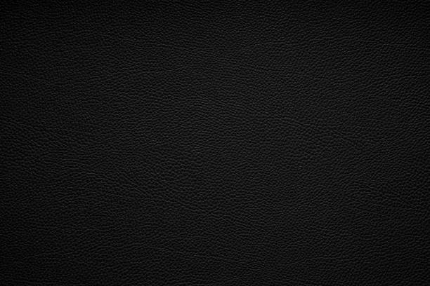 black leather texture background - couro imagens e fotografias de stock
