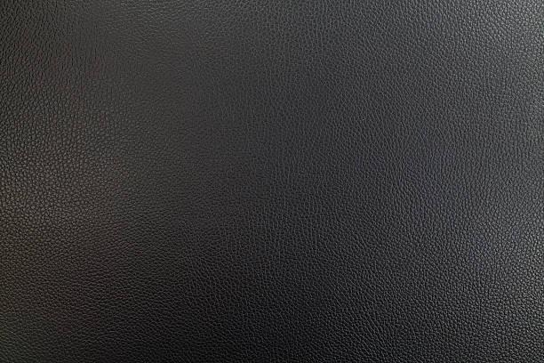 Fondo de textura de cuero negro - foto de stock