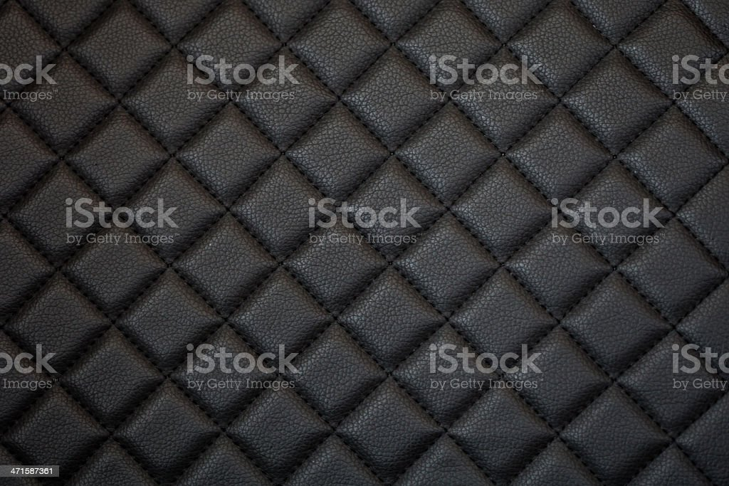 black leather texture of sofa royalty-free stock photo