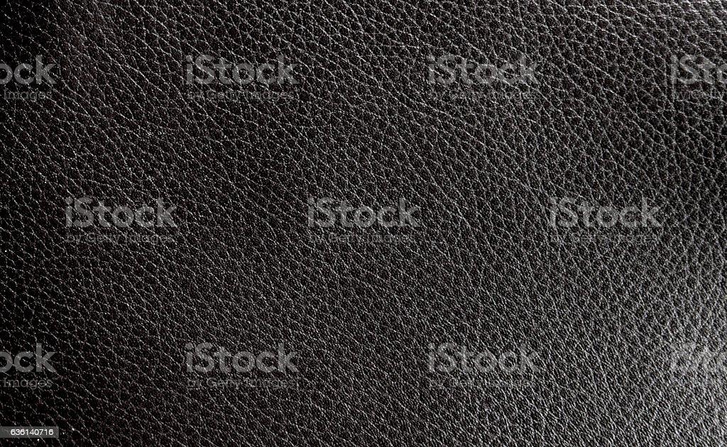 black Leather texture stock photo