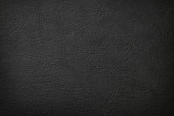 Black leather texture Black leather texture background leather stock pictures, royalty-free photos & images